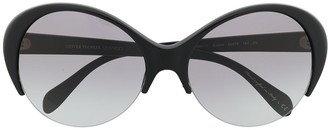 Oliver Peoples Oversized Tinted Sunglasses