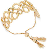 Thalia Sodi Gold-Tone Chain Link Slider Bracelet, Only at Macy's