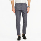 J.Crew Ludlow tuxedo pant in Japanese chambray