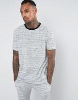 Asos Loungewear Oversized Neppy Waffle T-shirt