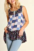 Umgee USA Printed Sleeveless Top
