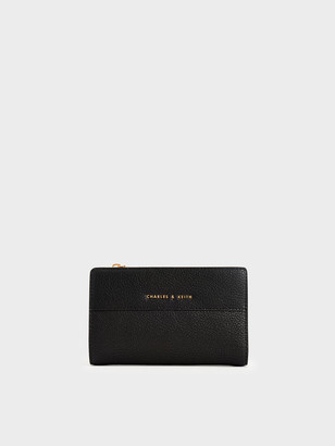 Charles & Keith Snap-Button Mini Wallet