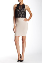 Lipsy Lace Top Dress