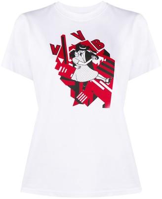 Victoria Victoria Beckham Dancing print T-shirt
