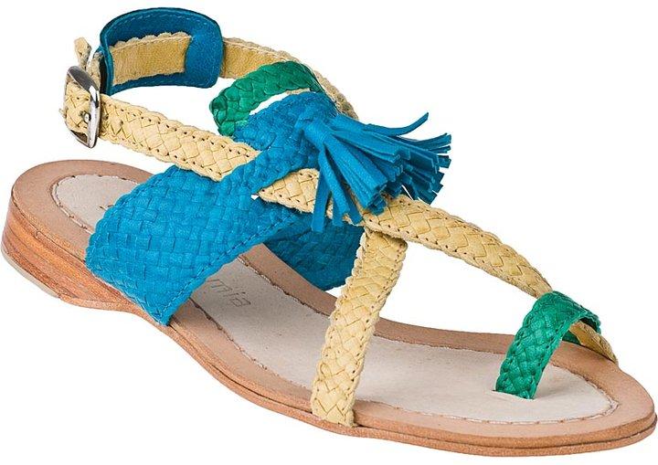 Sheridan MIA Sublime Flat Sandal Multi Leather