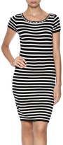Molly Bracken Striped Sweater Dress