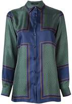 Etro printed satin shirt