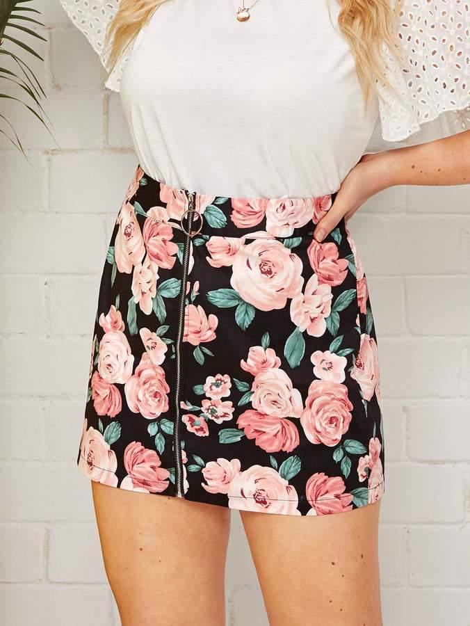 8484a28e6b Stretch Mini Skirt Plus - ShopStyle