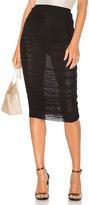 by the way. Kinsley Mesh Midi Skirt