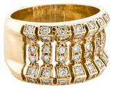 Ring Wide Diamond Band