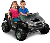 Hummer Kid Motorz H2 Two-Seater 12-Volt Ride-On in Black