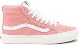 Vans Retro Sport Sk8-Hi Slim Sneaker in Pink