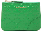 Comme des Garcons Clover Embossed Small Pouch