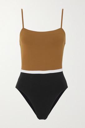 Eres Panama Ara Color-block Swimsuit - Black