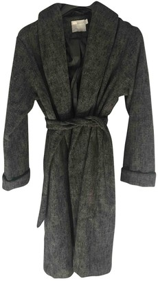 Asos Anthracite Wool Coat for Women