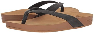 Reef Cushion Bounce Court LE (Black) Women's Sandals