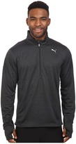 Puma PE Running Long Sleeve Half Zip Tee