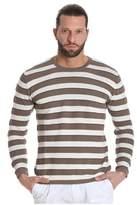 Altea Men's Brown Cotton T-shirt.