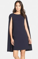 Adrianna Papell Women's Cape Sheath Dress
