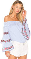 VAVA by Joy Han Beatrice Top in Blue. - size L (also in M,S)