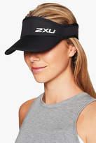2XU Run Visor in Black