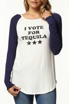 Ppla Tequila Raglan Top
