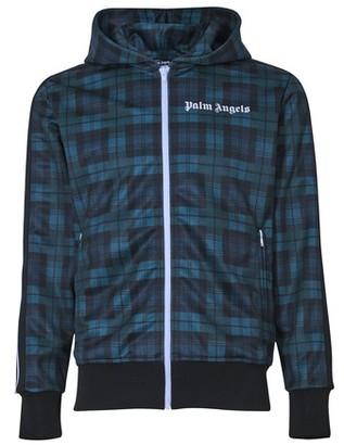 Palm Angels Black Watch track hoodie