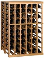 Vinotemp Half-Height Double Deep Wine Rack Module with Tabletop - 120 Bottles