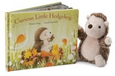 Jellycat Infant Curious Little Hedgehog Book & Plush Toy