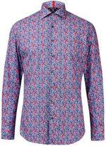 Burton Mens West End by Simon Carter Multi-Coloured Petal Slim Fit Cotton Shirt*