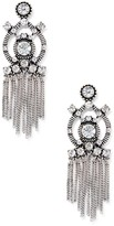 Sole Society Crystal Fringe Statement Earring