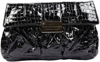 Giuseppe Zanotti Black Patent leather Clutch bags