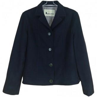 Aquascutum London Black Wool Coats