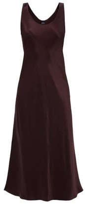 MAX MARA LEISURE Talete Dress - Burgundy