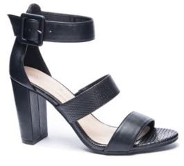 Chinese Laundry Sunday Block Heel Dress Sandals Women's Shoes