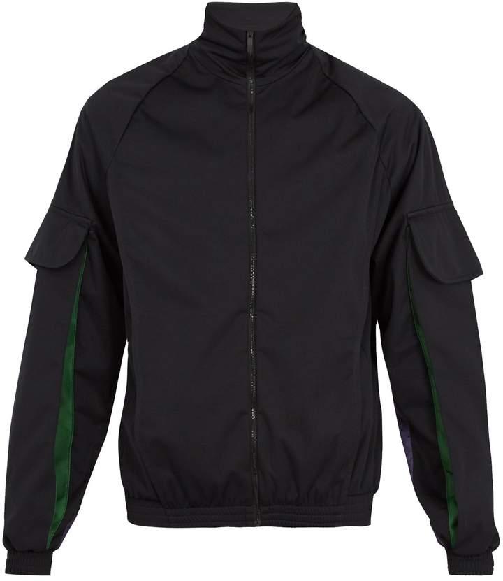 Cottweiler Contrast-panel track jacket