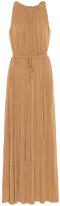 Max Mara Astrid sable-jersey dress