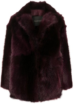 Blancha Oversized Shearling Coat