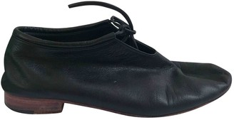 Martiniano Black Leather Lace ups