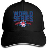 Parisama-Hat Chicago Cubs World Series 2016 Cubs Sandwich Baseball Caps For Men Women (8 Colors)
