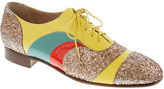 J.Crew Creatures of the Wind for psychedelic oxfords
