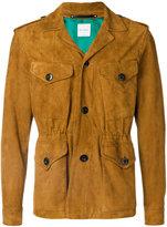 Paul Smith patch pocket jacket - men - Sheep Skin/Shearling - S