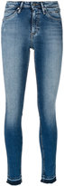 CK Calvin Klein distressed skinny jeans