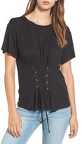 June & Hudson Women's Corset Tee
