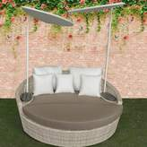 Ivy Bronx Carini Patio Daybed with Cushions