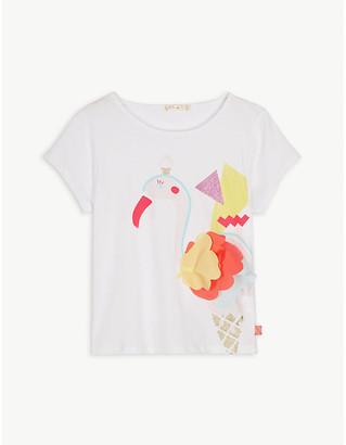 Billieblush Toucan cotton T-shirt 4-12 years