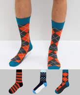 HS by Happy Socks 3 Pack