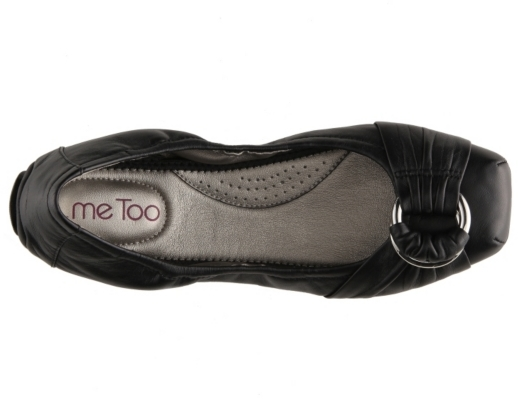 Me Too Space Leather Flat