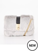 Very Mini Faux Fur Crossbody