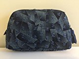 Bergdorf Goodman Denim Cosmetic Bag, LIMITED EDITION
